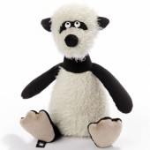 Petit panda Beasts marron (22 cm) - Sigikid