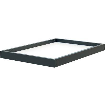 Étagère supplémentaire en bois de hêtre pour table à langer Confort gris  par AT4