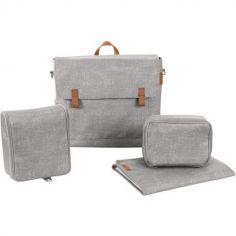 Sac à langer à bandoulière Modern Bag Essential grey gris