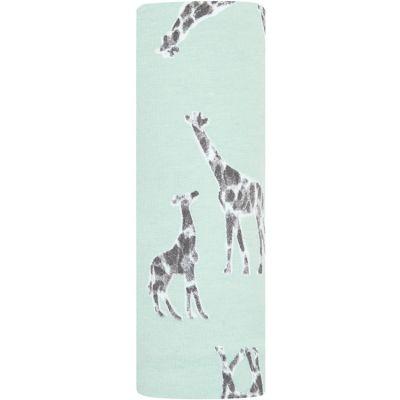 Maxi lange maille confort girafe Jade (120 x 120 cm)