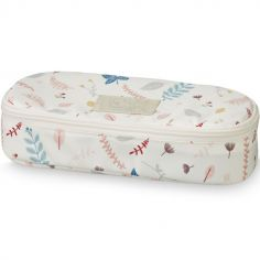 Trousse scolaire Pressed Leaves rose
