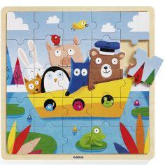 Puzzle en bois Puzzlo Boat (25 pièces)