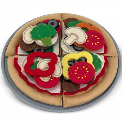 Aliments en feutre ensemble à pizza (40 pièces)  par Melissa & Doug