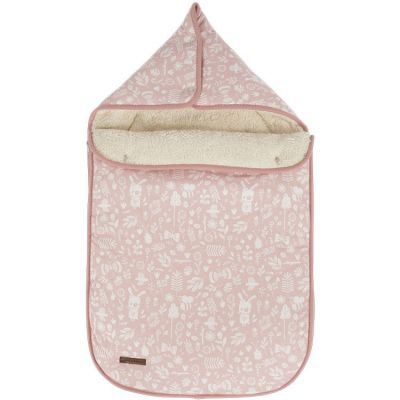 Nid d'ange passe sangle Adventure pink (95 x 108 cm)  par Little Dutch
