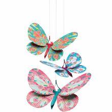 Mobile Papillons paillettes  par Djeco