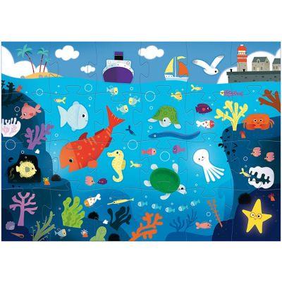 Puzzle géant Sous la mer (32 pièces)  par Djeco