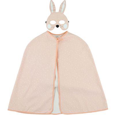 Cape et masque déguisement lapin Mrs. Rabbit (3-7 ans)  par Trixie