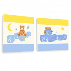 Tableau duo Ourson