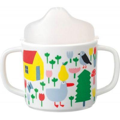 Tasse à bec en mélamine avec anses La campagne Maison Petit Jour