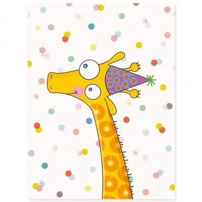 Affiche Girafe (30 x 40 cm)  par Série-Golo