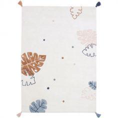 Tapis rectangulaire en coton Monsteras (120 x 170 cm)