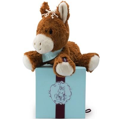 Coffret peluche Mocha le cheval marron (14 cm) Kaloo