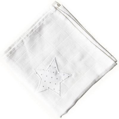 Lange Pois argentés étoile (65 x 65 cm) Le petit rien