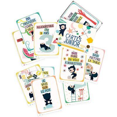Cartes photos souvenirs Junior (30 cartes)  par Milestone