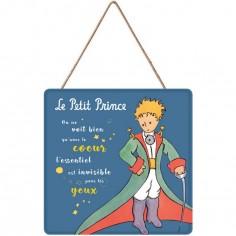 Panneau en bois Le Petit Prince cape épée