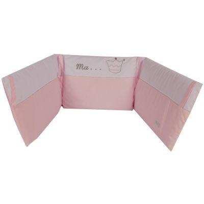 Tour de lit Princesse (pour lits 60 x 120 cm et 70 x 140 cm)  par Nougatine