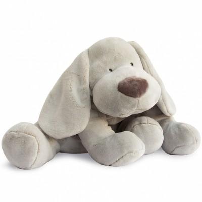Peluche chien beige (50 cm) Doudou et Compagnie