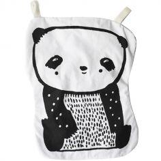 Doudou plat bruissant Panda