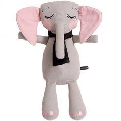 Peluche éléphant gris clair (50 cm)
