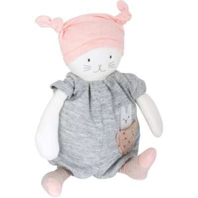 Chat musical Moon Les petits dodos (28 cm) Moulin Roty