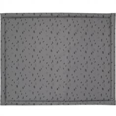 Tapis de parc plastifié Spot storm grey gris (75 x 95 cm)