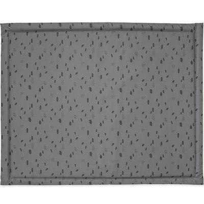 Tapis de parc plastifié Spot storm grey gris (75 x 95 cm)  par Jollein