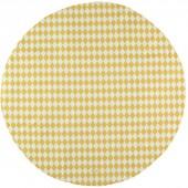Tapis de parc Apache Losange jaune miel (105 cm) - Nobodinoz