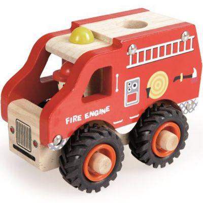 Camion de pompiers en bois Egmont Toys