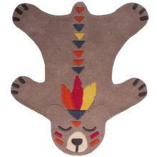 Tapis Peau d'ours Akko (100 x 115 cm)  par Nattiot