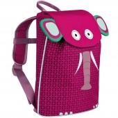Mini sac à dos Duffle Eléphant  Wildlife fuchsia - Lässig