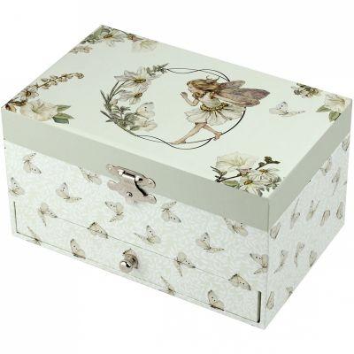 Boîte à bijoux musicale Flower Fairies  par Trousselier