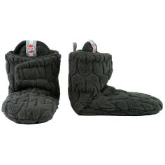 Chaussons anthracite Slipper Empire (0-3 mois)