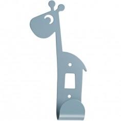 Patère Raffi la girafe bleu