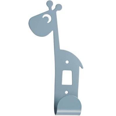 Patère Raffi la girafe bleu  par Done by Deer