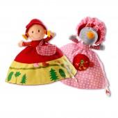 Marionnette réversible Chaperon rouge - Lilliputiens