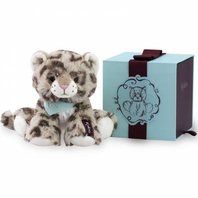 Coffret peluche Cookie le léopard (19 cm) Kaloo
