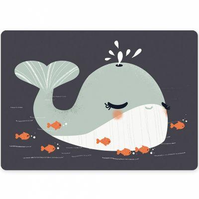 Carte A6 Les Animignons la baleine  par Kanzilue