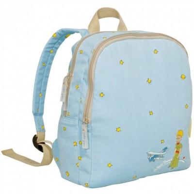Grand sac à dos bleu ciel Le petit prince  par Petit Jour Paris