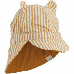 Casquette réversible Cosmo Mustard (1-2 ans)