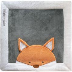 Tapis de jeu Tapidou renard (100 x 100 cm)