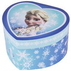 Boîte musicale coeur Elsa la Reine des Neiges