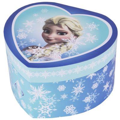 Boîte musicale coeur Elsa la Reine des Neiges  par Trousselier