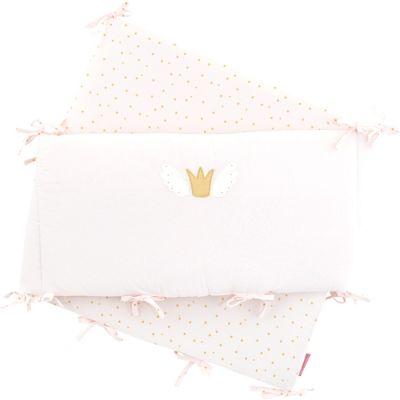 Tour de lit Princesse Swan (pour lits 60 x 120 ou 70 x 140 cm)  par Little Crevette