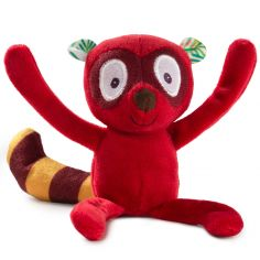 Mini peluche Georges le lémurien (15 cm)