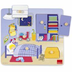 Puzzle à encastrement Chambre (7 pièces)