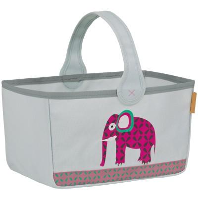 Panier nurserie Wildlife Eléphant  par Lässig