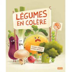 Livre Légumes en colère