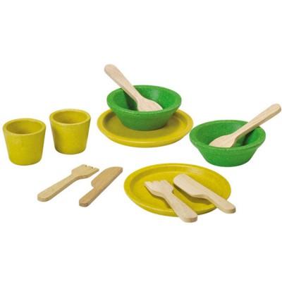 Ensemble dinette en bois  par Plan Toys