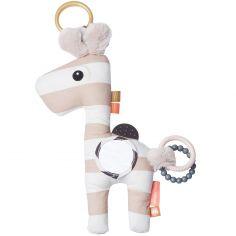 Jouet d'éveil à suspendre Raffi la girafe rose (20 x 36 cm)