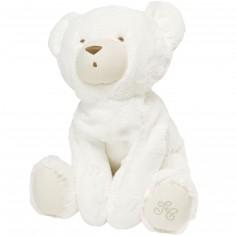 Peluche géante Prosper l'ours polaire écru (90 cm)
